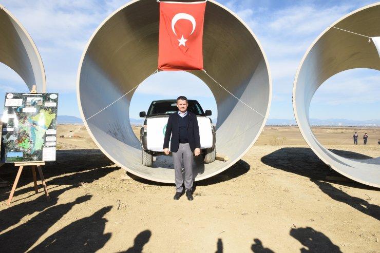 Bakan Pakdemirli: Adana'daki sulama projesi, 106 bin kişiye istihdam sağlayacak