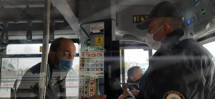 HES kodu olmadan otobüse binmek isteyince polis çağırıldı