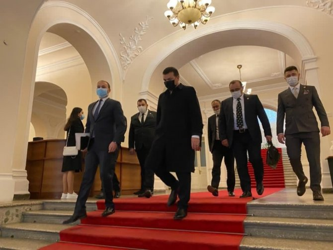 Türk iş adamlarından Karabağ'a 'Zafer tebriği' ziyareti