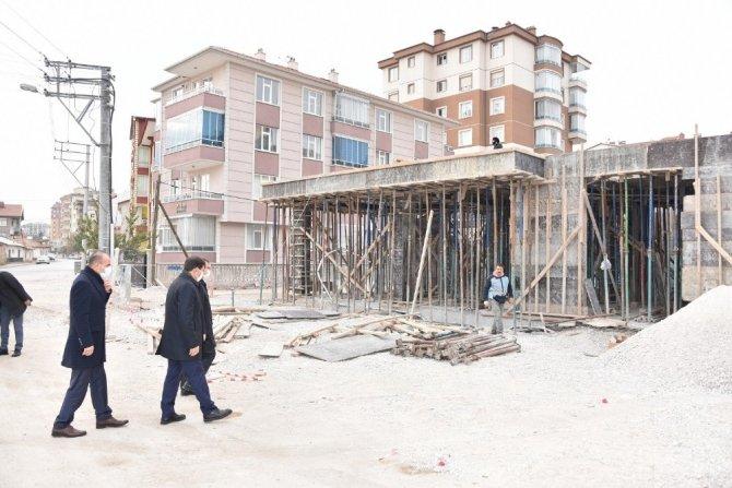 Başkan Kılca Orhangazi Sosyal Tesisi'nde incelemede bulundu
