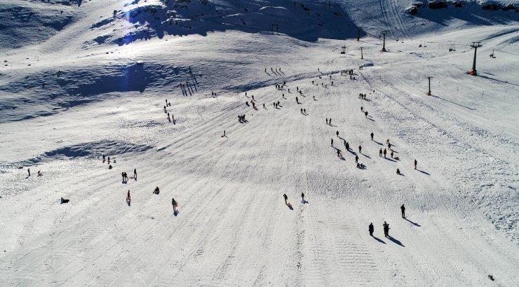 Kayak merkezleri yılbaşında dolacak