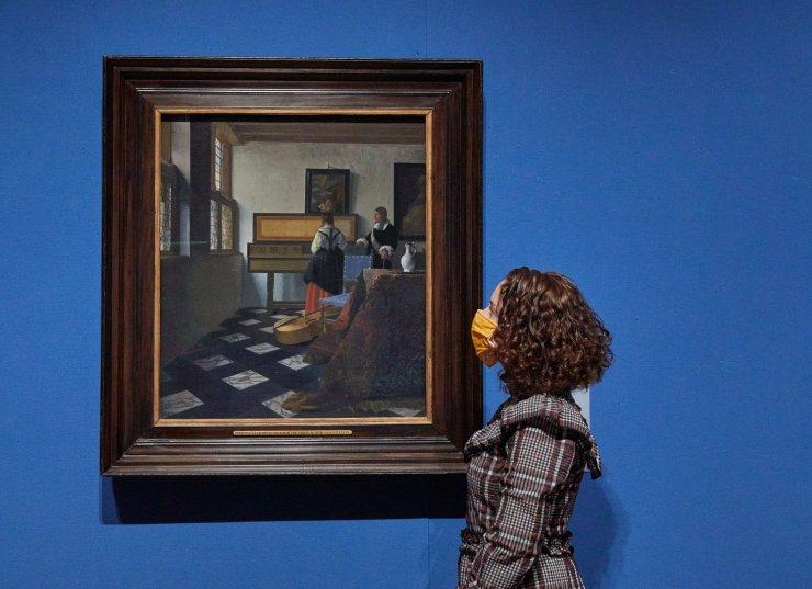 İngiltere Kraliyet Koleksiyonu'nda yer alan tablolar ilk kez görücüye çıktı
