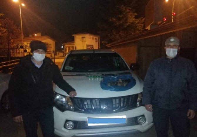 Beyşehir'de yasa dışı ördek avına ceza