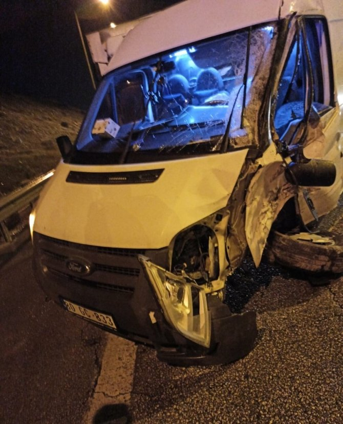 Tarsus'ta zincirleme kaza: 2 yaralı