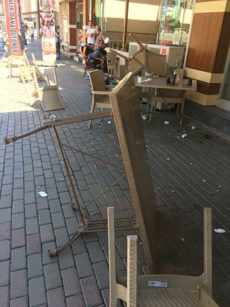 Haraç alamadığı restoran sahibini bıçakladığı öne sürülen şüpheli gözaltına alındı