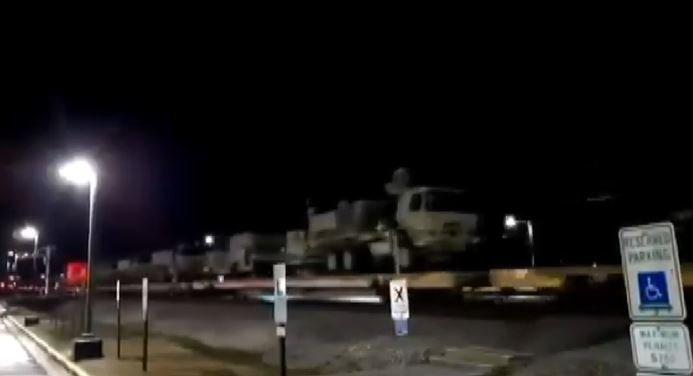 ABD tarihi devir teslim törenine hazırlanıyor: 117 askeri araç takviyesi