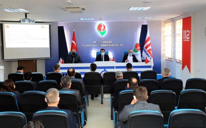 İl koordinasyon Kurulu toplantısı Vali Masatlı'nın başkanlığında yapıldı
