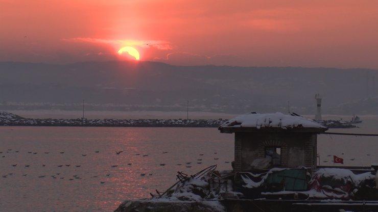 Şile'de gün batımında görsel şölen