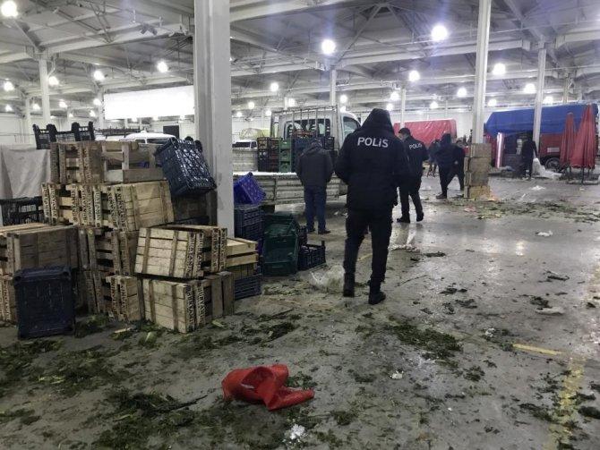 Konya'da cinayetle biten pazardaki kavganın şüphelileri adliyeye sevk edildi