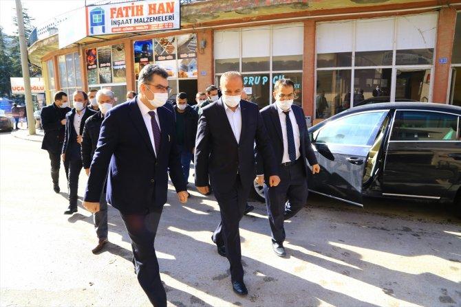 AK Parti Konya Milletvekili Orhan Erdem, Hadim'i ziyaret etti