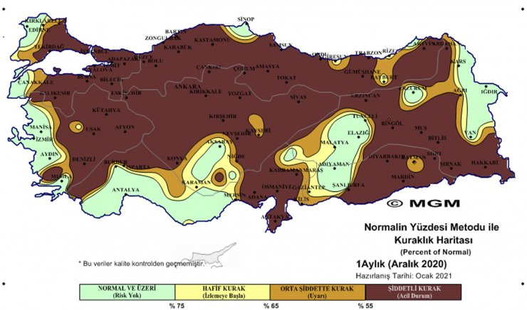 WWF'den kuraklık uyarısı: Konya'nın da bulunduğu 10 şehir küresel yüksek risk listesinde!