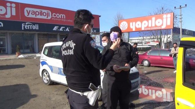 Sokağa çıkma izni olmayan yolcuyu taşırken, polisten kaçan taksi sürücüsü cezadan kaçamadı