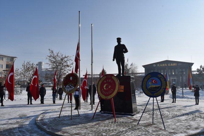 Kazım Karabekir vefatının 73. yılında Kars'ta anıldı
