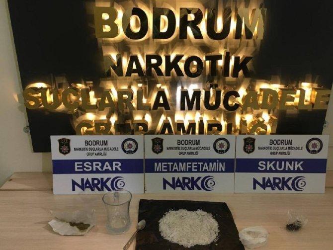 Bodrum'da uyuşturucu operasyonunda 3 gözaltı