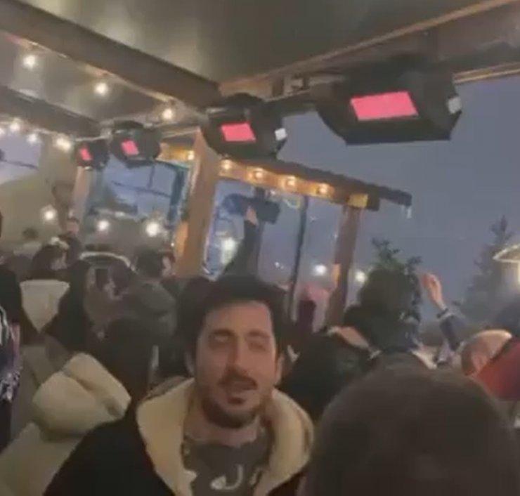 Uludağ'da eğlence görüntülerinin çekildiği otel kapatıldı