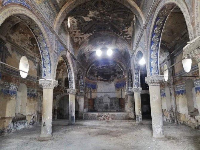 2 asırlık tarihi Ermeni Kilisesi restorasyon bekliyor
