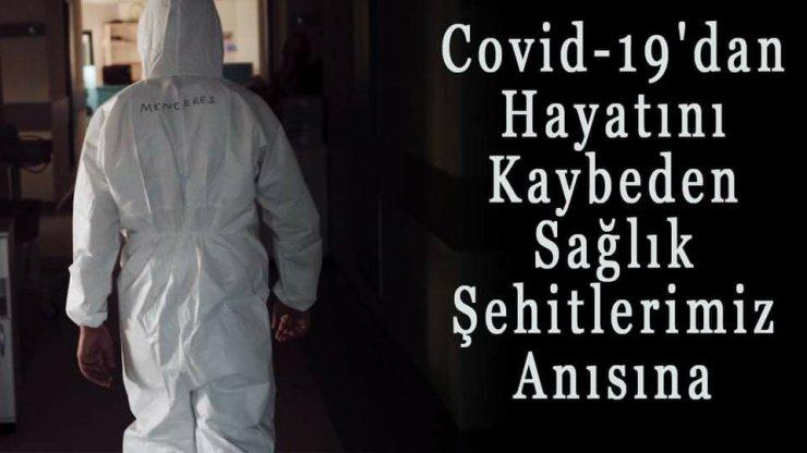 Salgında hayatını kaybeden sağlık çalışanları için klip çektiler
