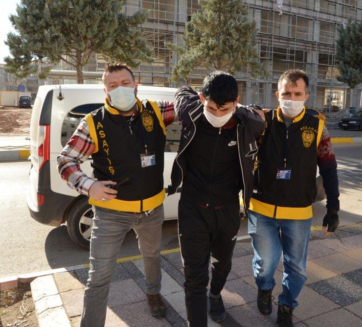 60 bin liralık kablo hırsızı yakalandı