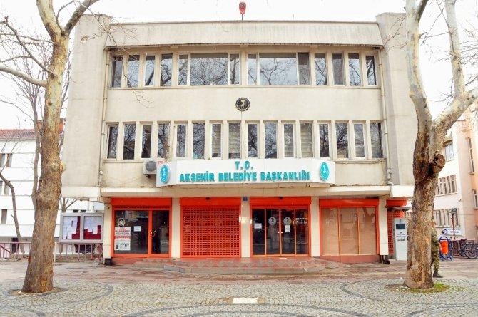 Akşehir Belediyesinden esnafa maddi destek