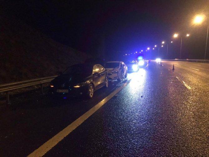 Ankara'da trafik kazası: 1 ölü