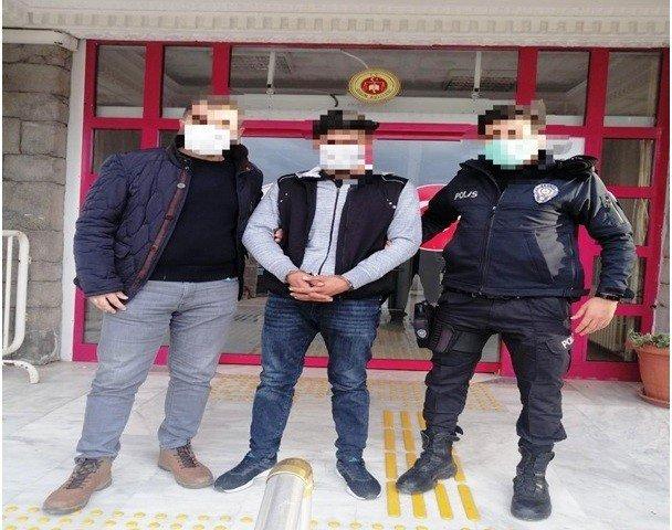 Didim'de televizyon hırsızları yakalandı