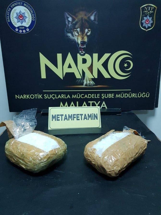 Malatya'da uyuşturucu operasyonu: 3 gözaltı