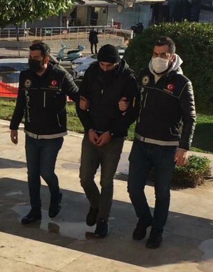 Ofisinde 75 gram 'kokain' ile yakalanan emlakçı tutuklandı