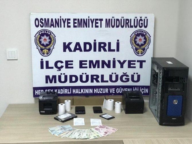 Osmaniye'de yasadışı bahis operasyonu