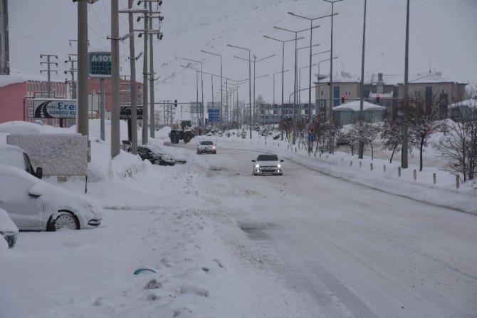 Bitlis'te 130 köy yolu ulaşıma kapandı