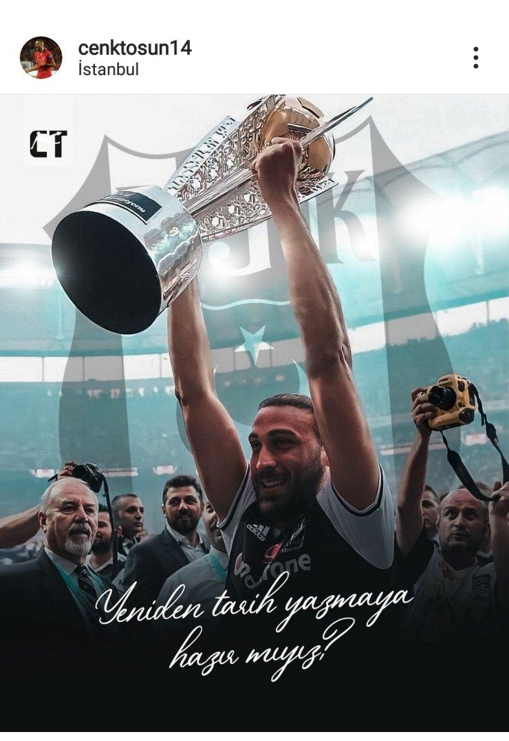 Cenk Tosun'dan Beşiktaş paylaşımı