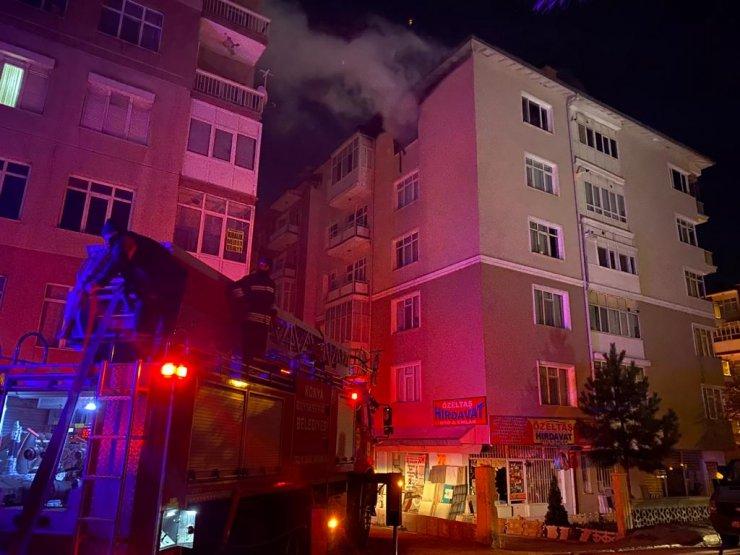 Konya'da yangın! biri çocuk: 2 ölü