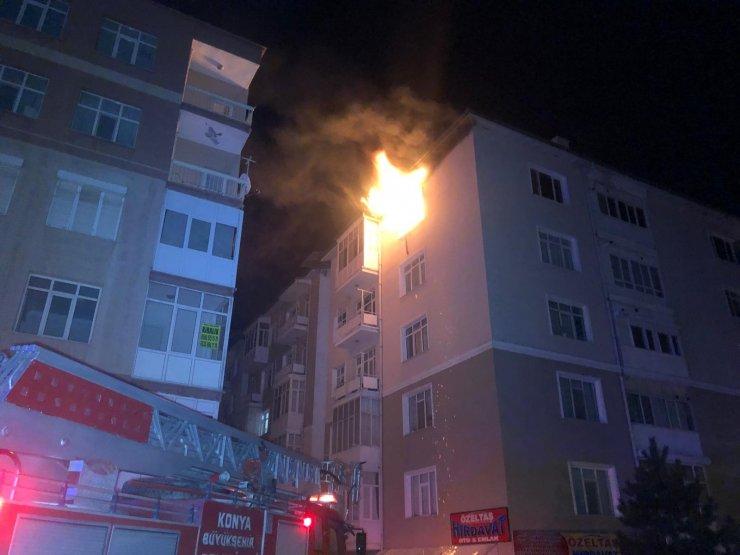Yangında ölen Sevim hemşire ve kızı, Konya'ya 3ay önce tayinle geldi