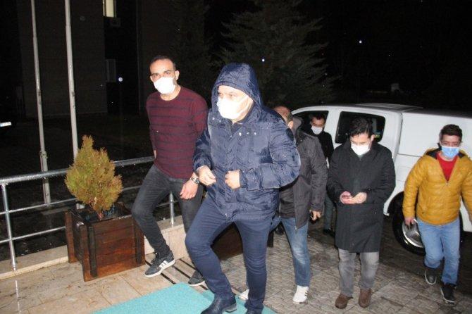Karaman'da 112 Çağrı Merkezi'nin üzerine yıldırım düştü