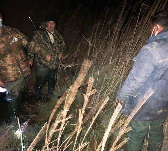 Milli Park'ta av yaparken yakalandılar