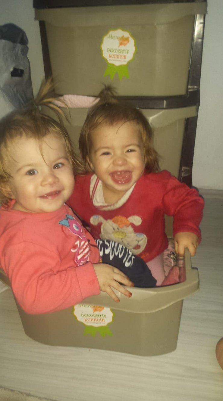 Denizli'deki yangında ikiz çocuklar ağır yaralandı