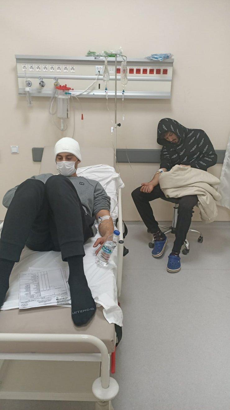 Deplasman dönüşü gıda zehirlenmesinden fenalaşan 6 sporcu tedavi edildi