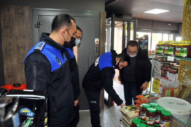Akşehir'de zabıtanın denetimleri sürüyor