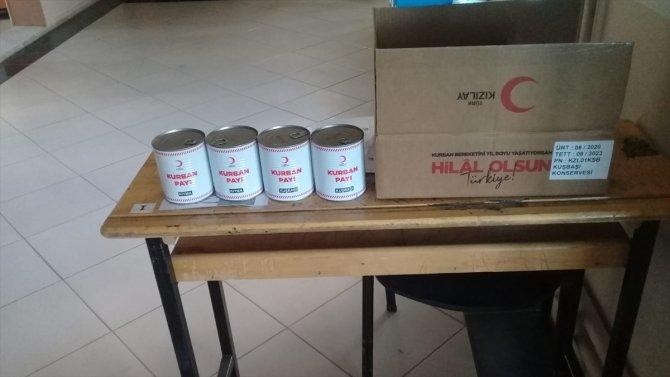 Türk Kızılayı'ndan ihtiyaç sahiplerine gıda yardımı