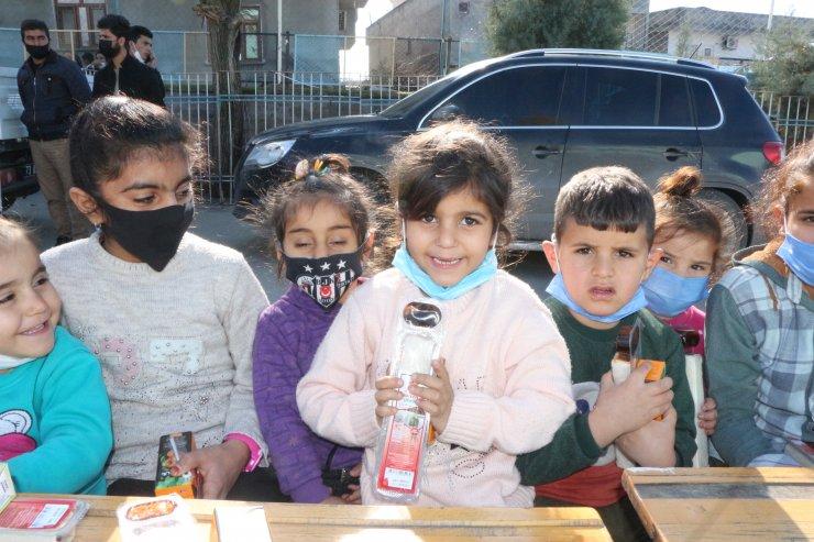 Şırnak'ta çocukların yüzü güldü