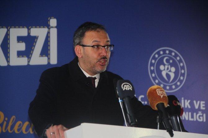"""Bakan Kasapoğlu: """"Kadın öncelikli spor bizim felsefemiz"""""""