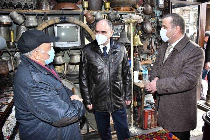 Konya Valisi Özkan, Beyşehir'i ziyaret etti