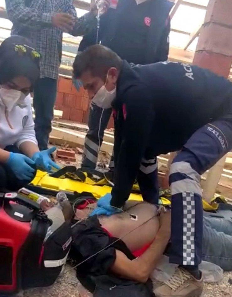 Mühürlenen inşaatta akıma kapılan işçi, öldü