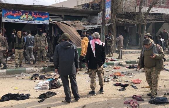 Resulayn'da iki ayrı terör saldırısı