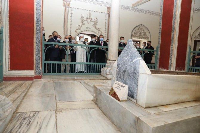 Sultan II. Murad Han vefatının 570. yılında Bursa'da anıldı