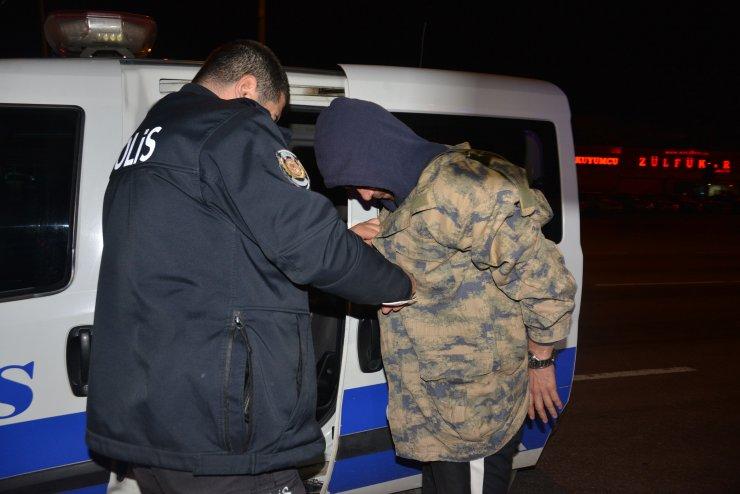 Dur' ihtarına uymadı, 5 kilometrelik kovalamaca sonucu yakalandı