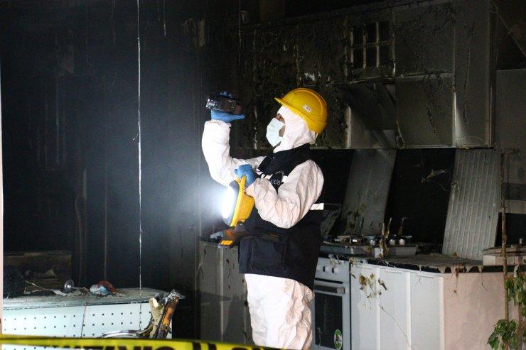 Kundakladığı iş yerinin sahibini telefonla arayıp, yangını izleten şüpheli yakalandı