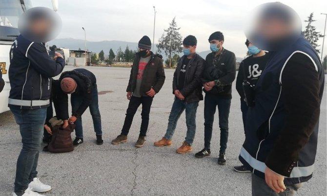 Osmaniye'de 6 Afgan mülteci yakalandı