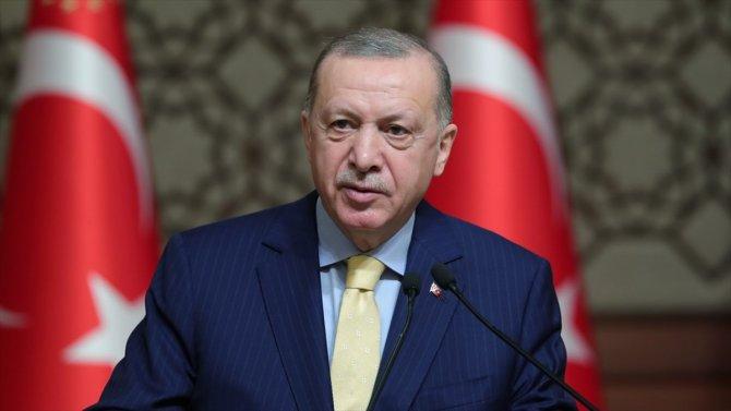Cumhurbaşkanı Erdoğan'dan 'geleceğin Türkiye'sini hep birlikte inşa edeceğiz' mesajı