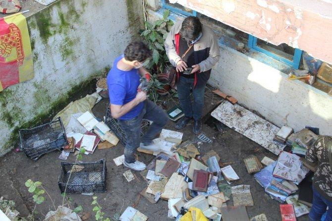 35 bin adet kitap sel sularına teslim oldu