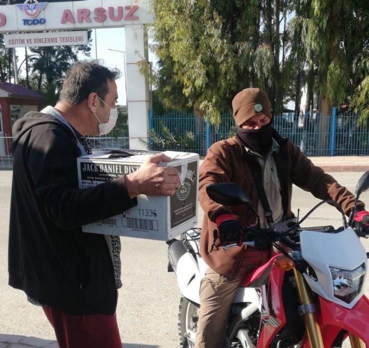 Arsuz'da tüfekle vurulan yavru kartal tedaviye alındı